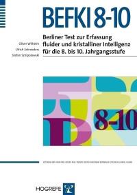 Berliner Test zur Erfassung fluider und kristalliner Intelligenz für die 8. bis 10. Jahrgangsstufe