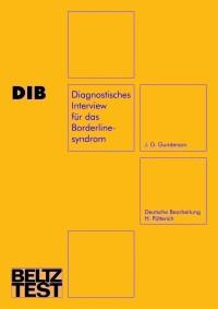 Diagnostisches Interview für das Borderlinesyndrom