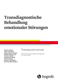 Transdiagnostische Behandlung emotionaler Störungen